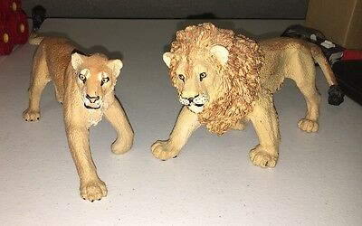 Safari Ltd Wildlife Wonders Lions Realistic Hand Painted Toy Figurines