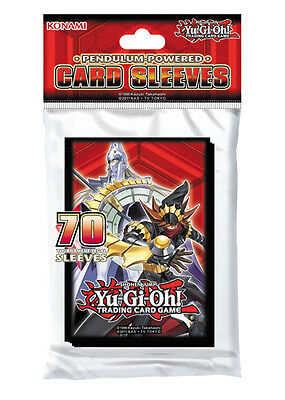 Yugioh: 70 Proteggi Cards/Sleeves/Bustine Protettive - Pendulum Powered