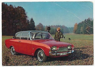 # 1960s Ford Taunus 17M - vintage old photo postcard