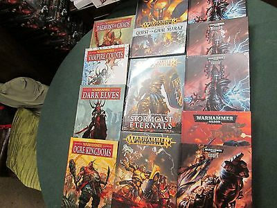 Warhammer /40K Codexes and Army Books. Sigmar Various, Games Workshop