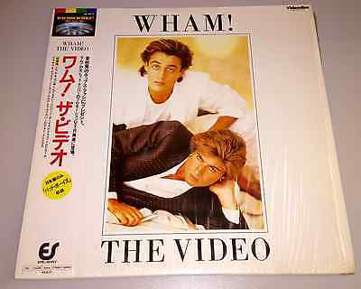 Wham The Video Disc from Japan George Michael