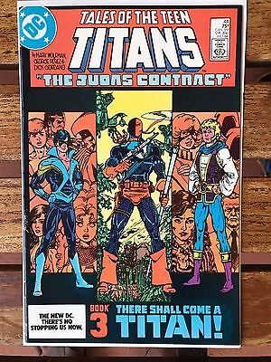 1984 DC Tales of the Teen Titans # 44 Comic Book 1st First Appearance Nightwing