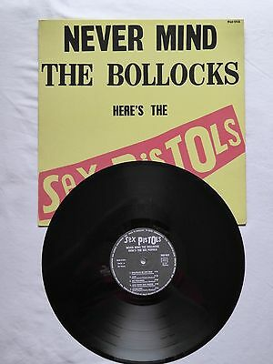 Sex Pistols Never Mind The Bollocks Rare French 1St Press Near Mint