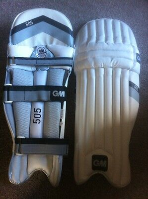 GM Gunn & Moore - Boy 505 Right Hand Batting Pads - One Size/Small Cricket