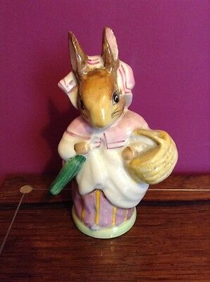 Beswick Beatrix Potter Mrs Rabbit with Umbrella out