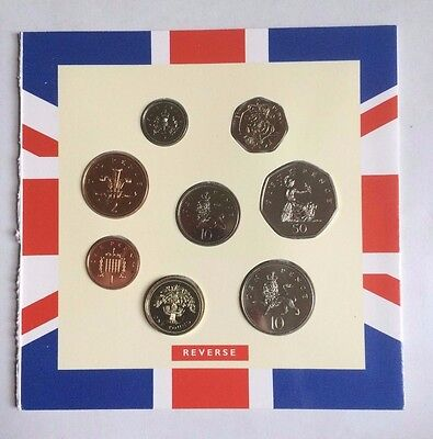 1992 1993 UK BRILLIANT UNCIRCULATED COIN COLLECTION (EEC 50P REMOVED) Royal Mint
