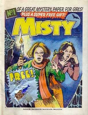 My Complete Misty Comic Set All 101 Issues, 2 Annuals & 3 Specials