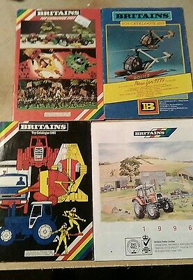 lot catalogues Britains 1979 1981 1982 1996
