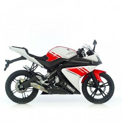 Yamaha Yzf-R125 2008-13 Leovince Gp-Style Exhaust System *promo Deal*in Stock