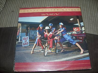 Johnny Guitar Watson Lp What The Hell Is This Vg Djf20557 1979 Funk Rare