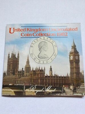 United Kingdom Uncirculated Coin Collection 1982