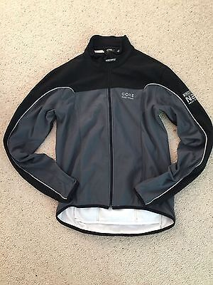Ladies small Gore cycling windstopper jacket in Grey
