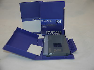 Box of 10 Sony PDV-184N Evaluated DVCam Tapes
