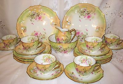 Antique Bohemia China - Tea and Dessert Service for 6 (22pcs)
