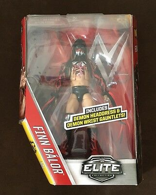 Wwe finn balor elite series 41 figure new very rare NXT demon debut figure