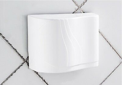 New White Wall Mounted Automatic Induction Super Quiet Hand Dryer Machine