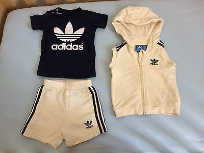 Adidas Baby Boy Shorts And T-shirt Set