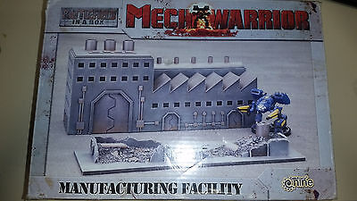 Mechwarrior Gale Force 9 Battlefield in a Box Manufacturing Facility (NO MECH)