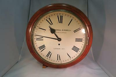 English Antique Chain Fusee Dial Clock. Recently Serviced, Fully Working.