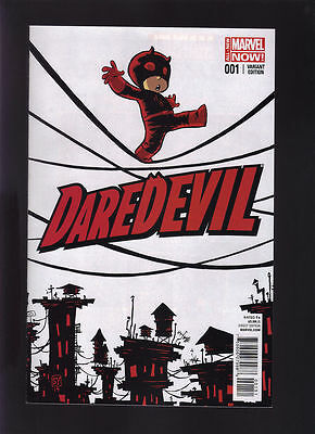 Daredevil #1 (All New Marvel Now!) Variant Edition - Bagged and Boarded
