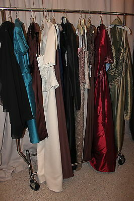 NWT Lot of 12 short/long formal dresses & Gowns, variety designers,sizes,colors