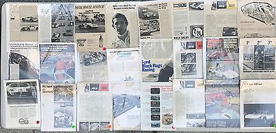 VINTAGE AUTHENTIC 1960's / 1970's FORD GT40 Literature & Advertising