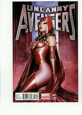 Uncanny Avengers 1 1:75 Granov Scarlet Witch Variant High Grade VF+/NM- SEE SCAN