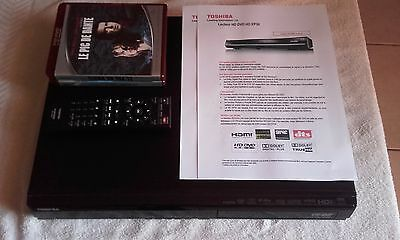 lecteur hd-dvd player toshiba HD-EP10 freezone + 2 films
