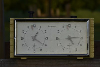 Vintage, analogue chess clock USSR