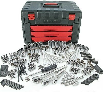 NEW! Craftsman 254 PC Mechanics Tool Set with 75 Tooth Ratchet Ratcheting Wrench
