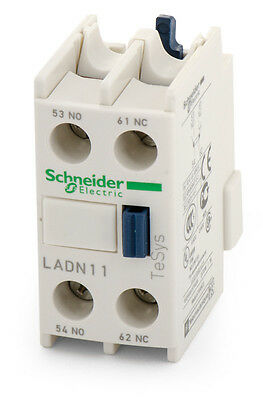 Schneider Electric Ladn1: 10A 690Vac 1No/nc Auxiliary Contact Block