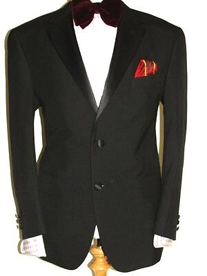 Mens Marks & Spencer Tuxedo Dinner Suit Uk42 W38 L31.5