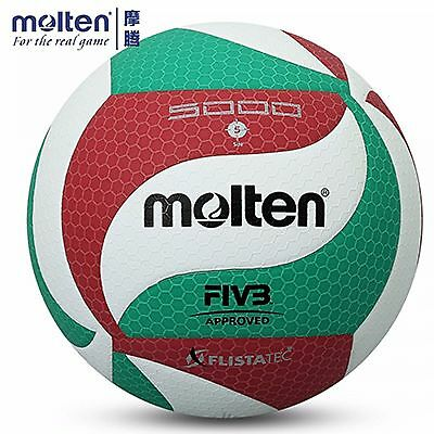 Volleyball Ball PU Leather Official Size 5 Molten V5M 5000/4500 Indoor Outdoor