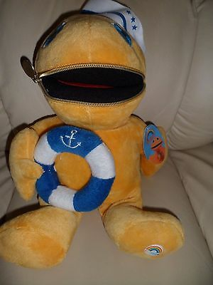 """New with tag 13"""" zippy as a sailor,plush soft toy from Rainbow TV show in 1970s"""