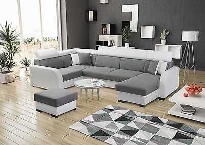 - Deco - Style U - 1xFootstool/Pouffe Sleep Function more than 5 seater