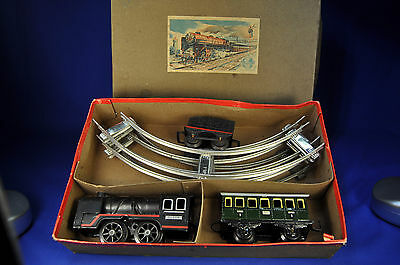 Distler Zug Packung Train Set 30354 Dampflok, Tender, Waggon, steam loc, tender