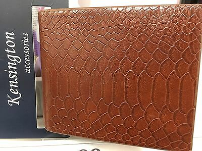 Kingston Leather Men's Wallet One size New With Tags