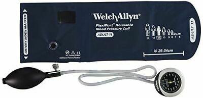 Welch Allyn DS45-11 Gauge with Durable One Piece, Adult Cuff Pocket Style
