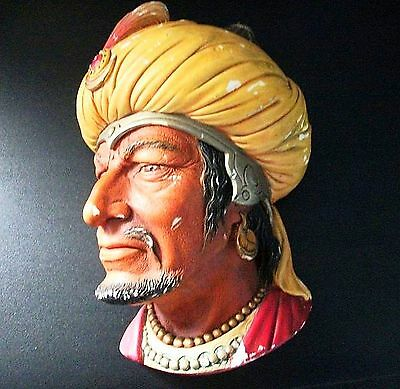 "Bossons Head Wall Plaque ""saracen"""