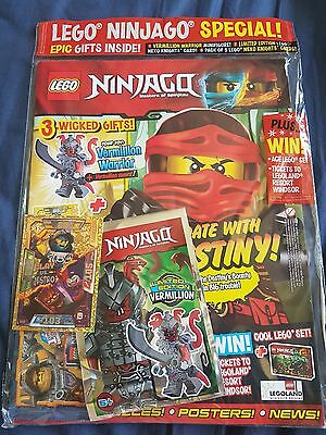 LEGO Ninjago Magazine issue  26 With free gifts