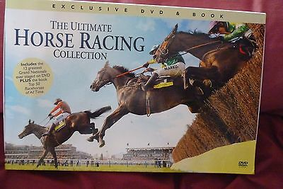 The Ultimate Horse racing collection DVD and book, boxed