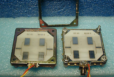 10.525 GHz Doppler radar modules, Microsemi, X-band transceivers, lot of four