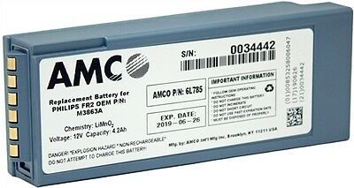 AMCO M3863A FR2 Replacement Battery - 6L785