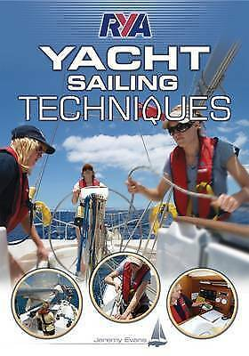 RYA Yacht Sailing Techniques by Jeremy Evans (New Paperback Book)
