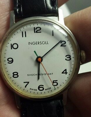 INGERSOLL orologio-watch SWISS VINTAGE '70 . COLLEZIONE. carica manuale.