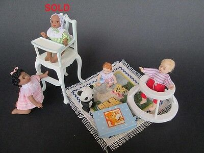 Nursery - 1:12 doll for dollhouse Dollshouse dolls by Paola&Sara Miniature
