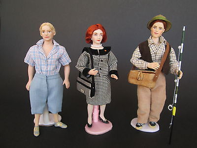 1:12 MODERN doll for dollhouse Dollshouse dolls by Paola&Sara Miniature