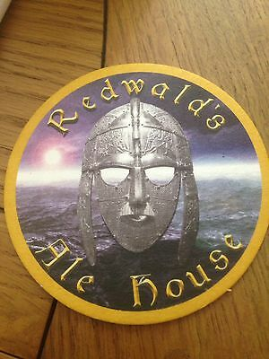 New Deben Peninsula Ales Brewery Redwalds Ale House Beermat Suffolk