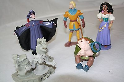 Ultra Rare Complete Set Of Hunchback Of Notre Dame Mcdonald Toys