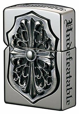 ZIPPO Oil Lighter Full Metal Jacket Silver 2FMJ-CRS3 from Japan